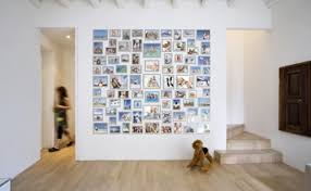 Stylish Pictures on a Wall Without Frames