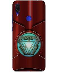 Arc Reactor Redmi Note 7 Back Cover