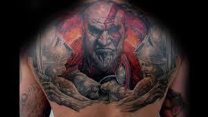тату кратос 30 мужских татуировок с изображением бога войны кратоса
