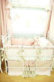 shabby chic crib bedding pine creek pink baby sets cribs for c