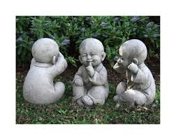 buddha garden. Buddha-garden-statue-wise-monks-set-large-back Buddha Garden