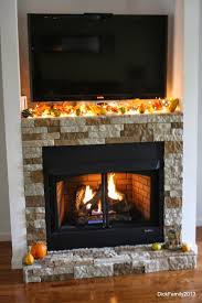 our fireplace was a diy