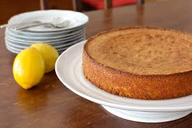 Celebrating Our 2nd Anniversary with Lemon Cornmeal & Almond Cake