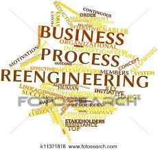 Stock Illustration Of Business Process Reengineering K11371818