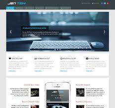 Joomla Design Jsn Teki 2 Responsive And Simple Technology Joomla Template