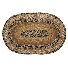 braided oval area rugs new vhc brands classic country primitive flooring kettle of braided oval