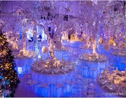 Winter Wedding Decor Icy Blue Winter Wedding Decor Winter Wonderland Design