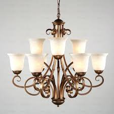 hampton bay 9 light chandelier chandelier glass shades bay 5 light bronze with white frosted hampton