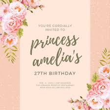Customize 174 Princess Invitation Templates Online Canva