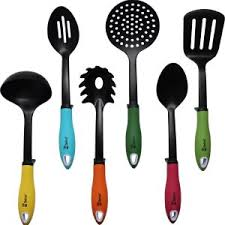 kitchen utensils. Kitchen Utensils Non-stick Cooking Tools Set By Chefcoo™ - Includes 7 Pieces Cookware