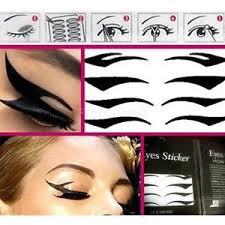 smokey eye stencil makeup set beth bender beauty via bethbenderbeauty 3 eyeliner sticker ebay