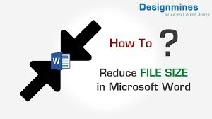 Compress Image Size To Reduce File Size In Word 2007 Youtube