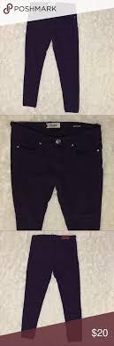 Vigold Jeans Size Chart Purple Vigold Skinny Pants Size 7 8 29 Excellent Pair Of
