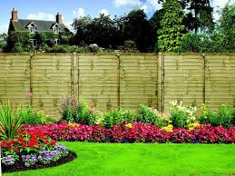 beautiful flower garden fence ideas for elegant backyard design