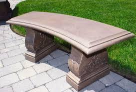 cement garden bench. Interesting Cement Throughout Cement Garden Bench