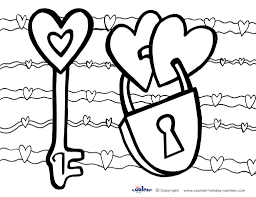 Coloring Pages Valentines Day At Book Online And Valentine For