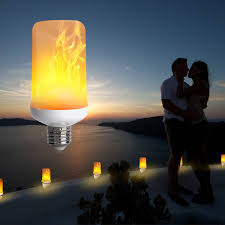 Websun Flickering Light Bulbs Led Flame Effect Light Bulb With 3 Modes Decoration Lighting