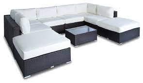 outdoor sofa sectional wicker 9 piece