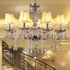 bedroom kitchen chandelier novelty lighting res de sala for home decorate modern large crystal chandelier lamps
