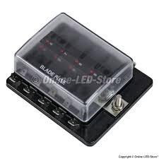automotive fuse boxes led fuse box fuse box for sale fuse box for sale ols pszacceps052h 10 way led illuminated blade fuse box with cover