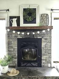 grey stone fireplace a farmhouse summer home tour part 1 you must check this home tour grey stone fireplace