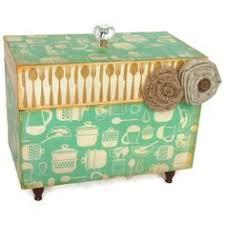Decorative Recipe Box Recipe Box Red Vintage and Cream Decorative Box by BlissfulBoxes 61
