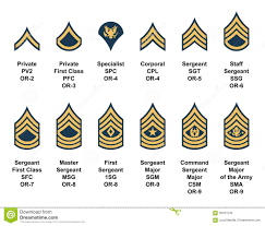Army Nco Ranks Chart Ranks In The Army Officer Rank Structure Marine Corp Rank