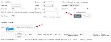 Time Sheet Manage Time Off Manager