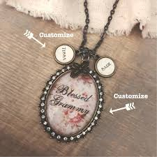 Kole Jax Designs Customer Service Custom Glass Oval Pendant Necklace Can Say Any Name On Oval With Optional Name Charms