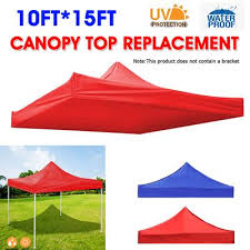 10x15ft gazebo top cover canopy roof