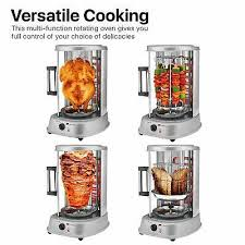 vertical counter top electric kebab tower rotating rotisserie oven grill en