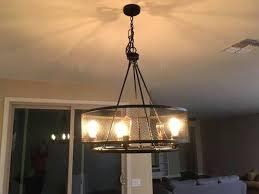 progress lighting chandelier collection 3 light bronze