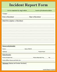 Cool Motor Vehicle Accident Report Form Template Free Resume Samples