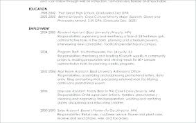 Sample Resume For Working Students. High School Student Curriculum ...