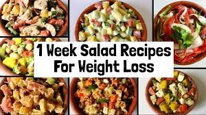 easy salad recipes for weight loss