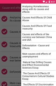 cause and effect outline android apps on google play cause and effect outline screenshot