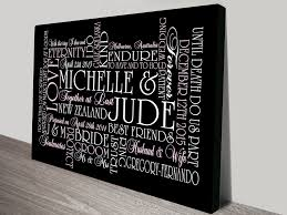 personalised canvas word art and wedding wall art gift ideas word wall art canvas on custom word wall art canvas with word wall art canvas supertechcrowntower