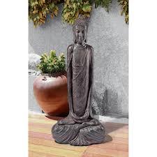 outdoor buddha garden statue lovely design toscano shenzhan buddha garden statue wayfair large buddha