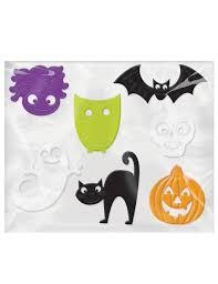 Fensterdekorationen Halloween Deko Für Kinder 7 Stück Bunt 5 Bis