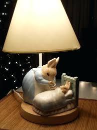 peter rabbit lamp beatrix potters nursery