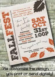 Fall Festival Invitation Templates 220 Best Invitations Posters