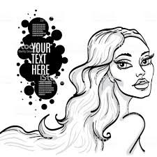 Beautiful Girl Vector Illustration Stock Illustration Download