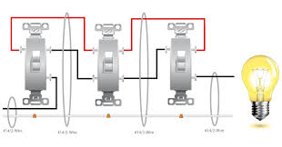 basic 4 way switch wiring electrical Four Way Switch Wiring Diagram 4-Way Switch Circuit