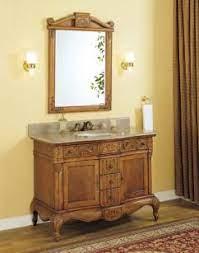 45 Inch Single Sink Furniture Style Bathroom Vanity Granite