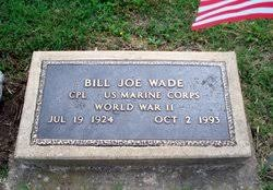 Corp Bill Joe Wade (1924-1993) - Find A Grave Memorial