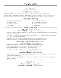 8 Resume Samples For Jobs Activo Holidays