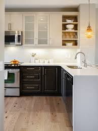attractive two tone kitchen cabinets great kitchen design ideas on a budget with two tone cabinets