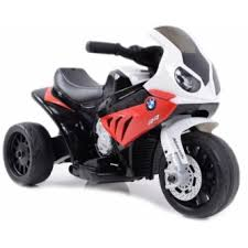 Детский <b>электромотоцикл Jiajia BMW S1000RR</b> 6V красный