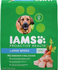Iams Proactive Health Adult Large Breed Dry Dog Food 30 Lb Bag