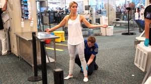 Women being strip searched